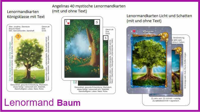 Lenormand Baum - Kartendeck