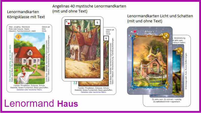 Lenormand Haus - Kartendeck