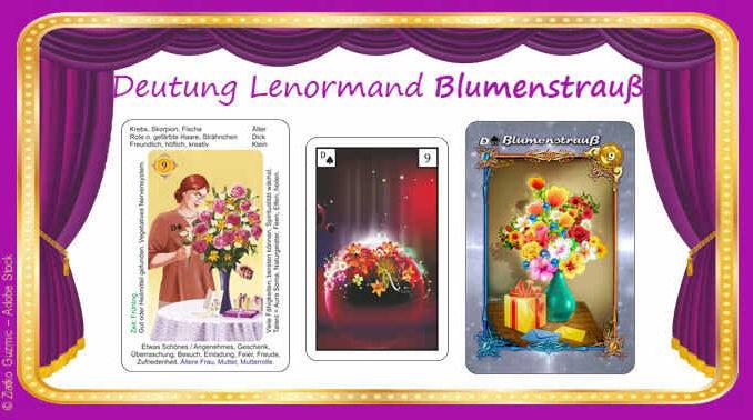 Lenormand Blumenstrauss