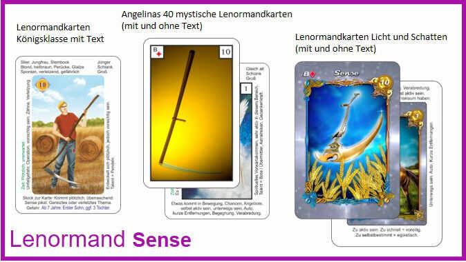 Lenormand Sense - Kartendeck