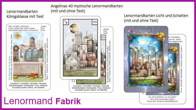 Lenormand Fabrik - Kartendeck