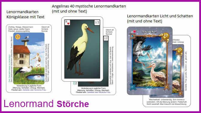 Lenormand Stoerche - Kartendeck
