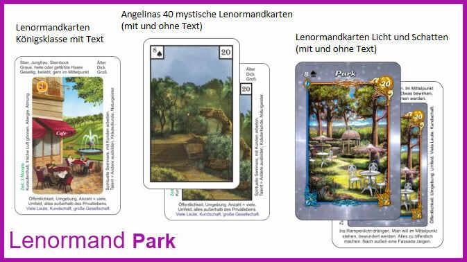 Lenormand Park - Kartendeck