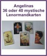 Mehr Infos zu Angelinas 40 mystische Lenormandkarten