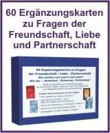 Mehr Infos zu den Ergänzungskarten zur Liebe, Freundschaft und Partnerschaft