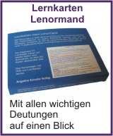 Mehr Infos zu den Lernkarten mit den Deutungen der Lenormandkarten