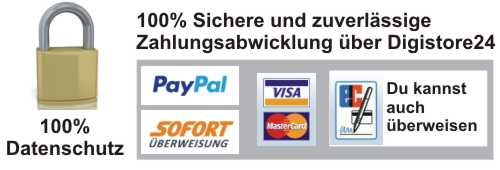 Sichere Zahlung mit Digistore