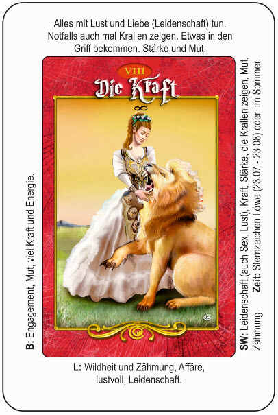 Tarotkarten mit Deutungshilfet