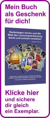 """Lenormandbuch """"Blicke tiefer"""" geschenkt!"""