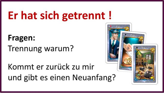 Lenormand Trennung