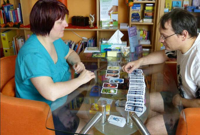 Beruf Kartenlegerin