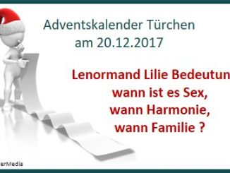 Lenormand Lilie Bedeutung