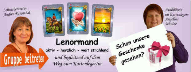 Vertiefende Deutung in der Facebookgruppe Lenormand