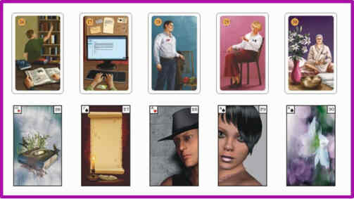 Lenormandkarten Bedeutung 26 - 30