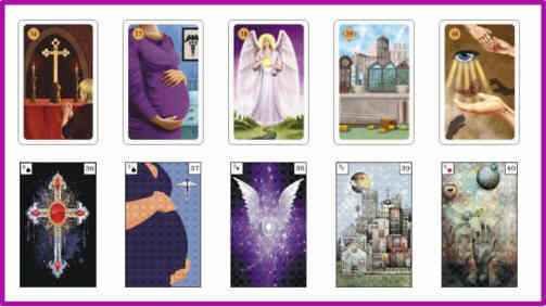Lenormandkarten Bedeutung 36 - 40
