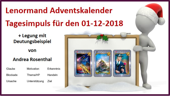 Lenormand Adventskalender 01-12-2018
