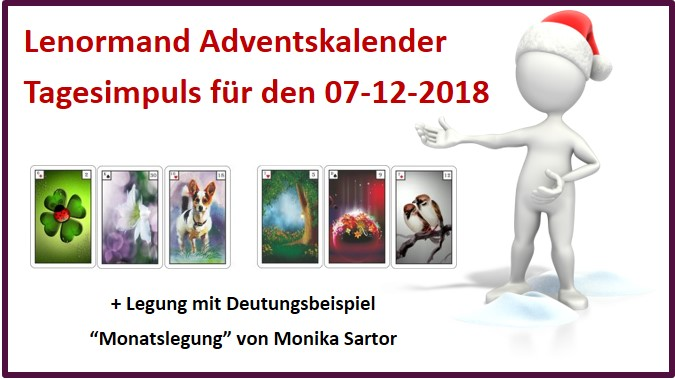Lenormand Adventskalender 07-12-2018