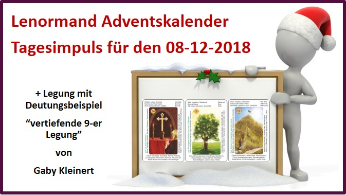 Lenormand Adventskalender 08-12-2018
