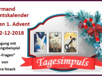 Lenormand Adventskalender 02-12-2018