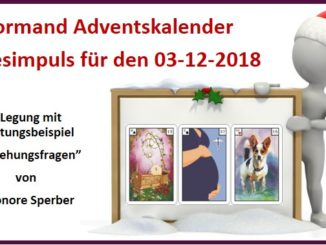 Lenormand Adventskalender 03-12-2018