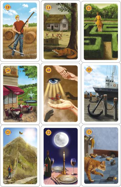 Lenormand Adventskalender 05-12