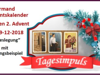 Lenormand Adventskalender 09-12-2018
