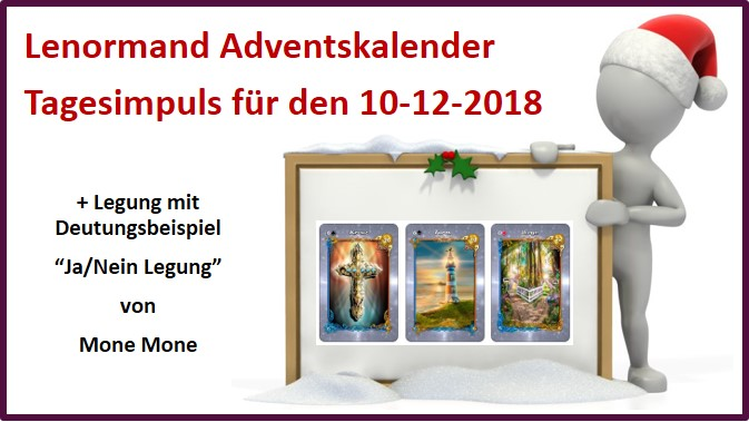 Lenormand Adventskalender 10-12-2018