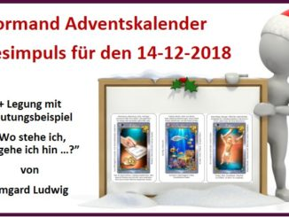 Lenormand Adventskalender 14-12-2018