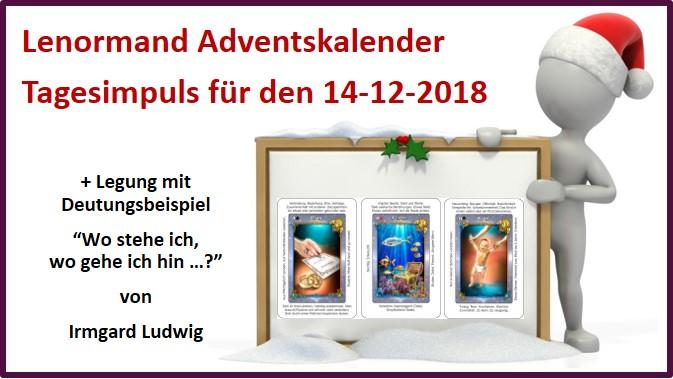 Lenormand Adventskalender 14-12-2018