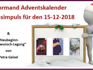 Lenormand Adventskalender 15-12-2018
