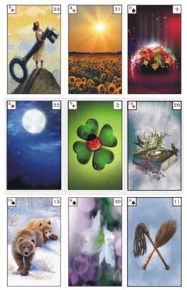 Lenormand Adventskalender 15-12 Legung