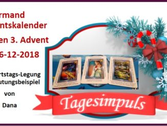 Lenormand Adventskalender 16-12-2018