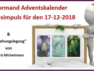 Lenormand Adventskalender 17-12-2018
