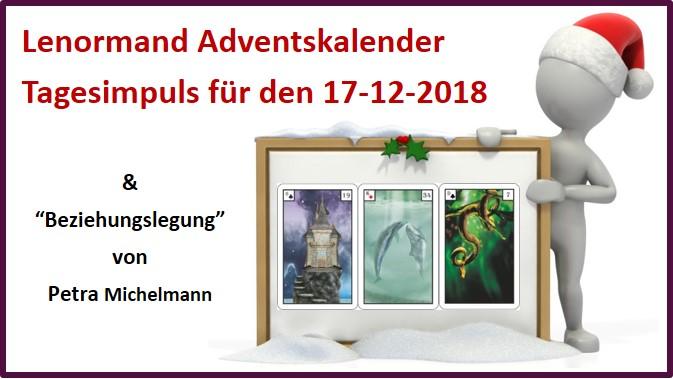 Lenormand Adventskalender 17-12-2018