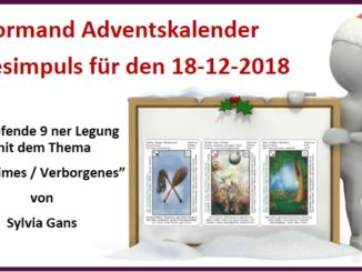 Lenormand Adventskalender 18-12-2018
