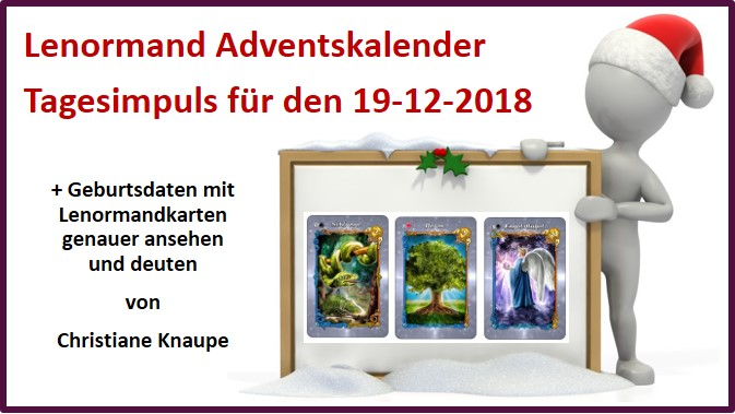 Lenormand Adventskalender 19-12-2018