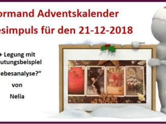 Lenormand Adventskalender 21-12-2018