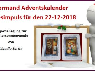 Lenormand Adventskalender 22-12-2018