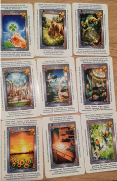 Lenormand Adventskalender 23-12 Legung