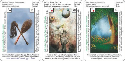 Tageskarten Lenormand 18-12-2018