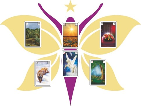 Lenormand Power Beispiel Legung Schmetterling