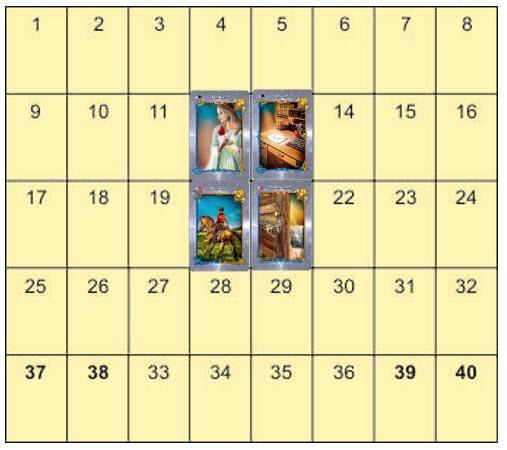 Die grosse Tafel Jahresthema deuten Beispiel