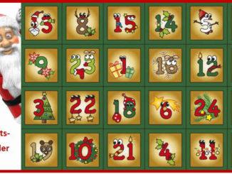 Kartenlegen Adventskalender 2020