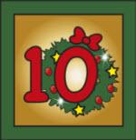 Kartenlegen Adventskalender Tuer 10
