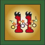 Kartenlegen Adventskalender Tuer 11