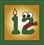 Kartenlegen Adventskalender Tuer 12