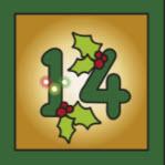Kartenlegen Adventskalender Tuer 14