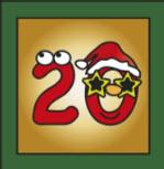 Kartenlegen Adventskalender Tuer 20