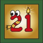 Kartenlegen Adventskalender Tuer 21