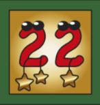 Kartenlegen Adventskalender Tuer 22